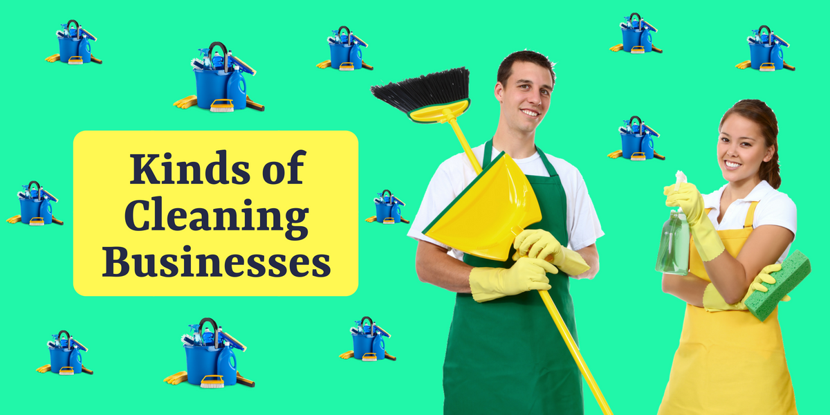Kinds of Cleaning Businesses